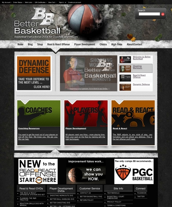 Better Basketball | Read and React Offense - Basketball Training DVDs