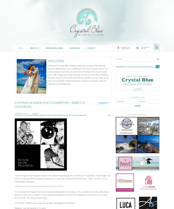 Crystal Blue Weddings