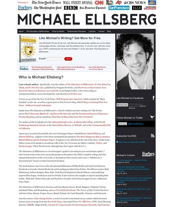 Michael Ellsberg |