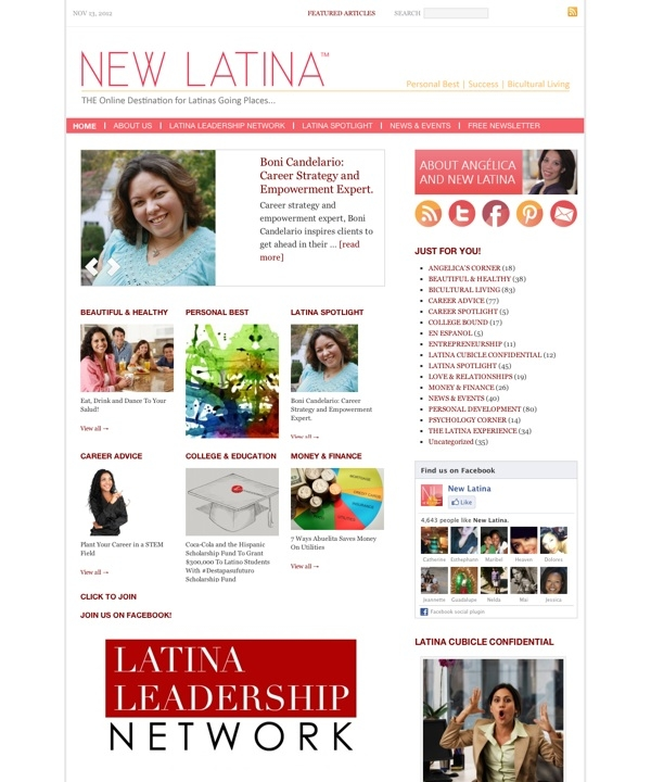 NEW LATINA™ — Personal Development and Career Success for Today's Latina