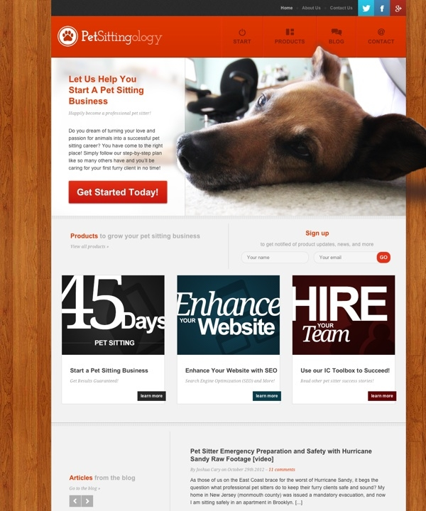 Your Pet Sitting Business Destination - PetSittingOlogy — The Art & Science of successfully starting a pet sitting business.