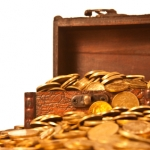 treasure chest of gold