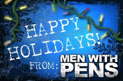 Men with Pens Christmas